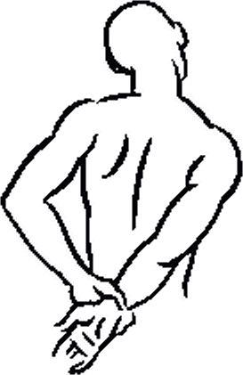 Растяжка 1 надостной мышцы